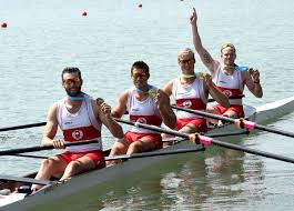 canadian rowers eye olympic qualification at world championships the men s coxless four crew will crothers kai langerfeld conlin mccabe and tim