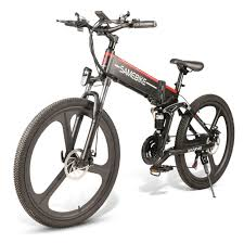 Classic Edition <b>Samebike LO26</b> Smart Folding <b>Moped Electric Bike</b> ...