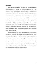 sample assessment report