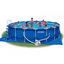 Отзывы о Каркасный <b>бассейн INTEX Metal Frame</b> Pool