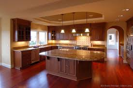 Small Picture Alluring Kitchen Backsplash Cherry Cabinets Tile Cabinetsjpg
