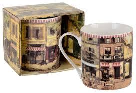 """<b>Gift</b>'n'<b>Home Кружка</b> """"Парижское Кафе"""" 400мл — купить по ..."""