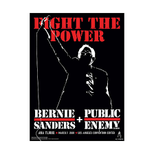 Fight the Power <b>Poster</b> – Bernie Sanders Campaign Store