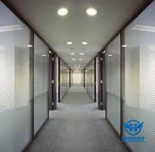 aluminium profile high partitions for office buildings high end aluminium alloy louver partition building office furniture