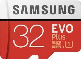 <b>Samsung EVO</b> Plus 32 GB MicroSDHC Class 10 95 MB/s <b>Memory</b> ...