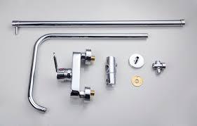 thermostatic brand bathroom: new brand bathroom thermostatic mixer valve quot square rainfall handheld shower head sets