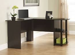 shape office desk see the small card with the code on it the seller printed that cherry custom home office desk