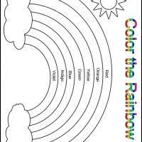 1000+ ideas about Free Kindergarten Worksheets on Pinterest ...Printable Color the Rainbow Kindergarten Worksheet - Printable Kindergarten Worksheets and Lessons - Free Printable Worksheets