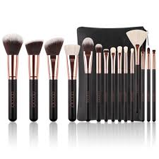 Docolor <b>Professional Makeup Brushes</b> Set with Cosmetic Case, <b>15Pcs</b>