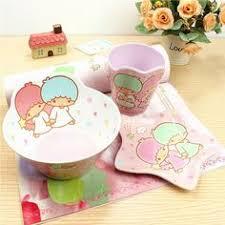 lovely dinnerware sets melamine spoon bow  pcs set lovely cartoon dinnerware set for kids children a melamine ta