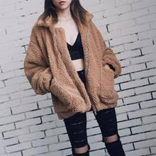 Best value <b>Women Winter</b> Soft <b>Jacket Plush</b> – Great deals on ...