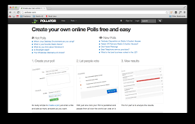 pollator is a poll creating service using the built pollator is a poll creating service using the built bootstrap