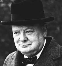 Image result for winston churchill portrait