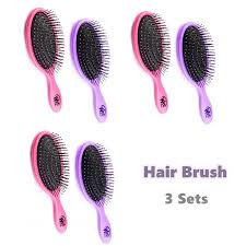 Wet <b>Brush</b> Detangler Hair <b>Brush</b> - Pink And <b>Purple</b> - Exclusive Ultra ...