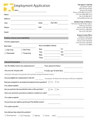 doc 460595 employment forms samples employment application employment application template employment forms samples