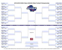 """Archer Athletics on Twitter: """"Here is the @OfficialGHSA bracket for ..."""