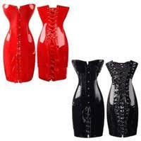 Оптом <b>Красные Черные Корсеты</b> Из Пвх - Купить Онлайн ...