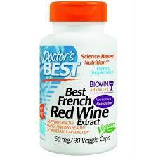 Doctors Best, <b>Экстракт французского красного</b> вина (Best French ...