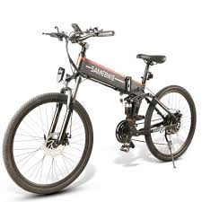 <b>Samebike LO26 Smart Moped</b> Electric Bike 10.4Ah Battery Front ...