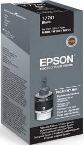 Картридж <b>Epson</b> T7741, черный, для струйного принтера ...