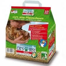 <b>Наполнитель</b> для кошачьего туалета <b>Cats Best</b> Eko Plus ...