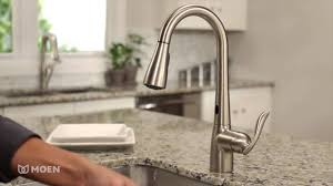 motionsense kitchen faucets activated moen arbor with motionsense one handle high arc pulldown kitchen fauce