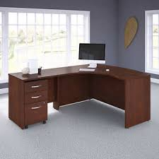 <b>Business Office</b> Pro Left Handed L-Shaped Desk with 3-Drawer ...