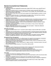 examples of achievements on a resume template examples of achievements on a resume