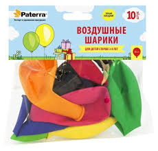 Купить <b>Набор</b> воздушных шаров Paterra 401-535 (10 шт ...
