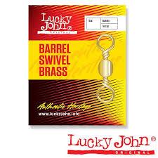<b>Вертлюги Lucky John</b> Barrel Brass купить в Москве в интернет ...