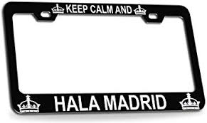 Custom Brother - KEEP CALM AND HALA MADRID ... - Amazon.com