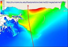 understanding katrina model of hurricane katrina storm surge