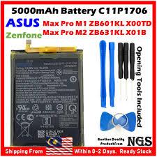 <b>ORIGINAL 5000mAh</b> Battery C11P1706 For <b>ASUS Zenfone</b> Max Pro ...