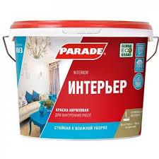 Купить <b>Краска в/д</b> для стен и потолков W3 акриловая белая ...