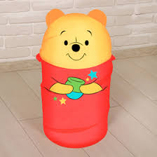 <b>Корзина</b> для игрушек <b>Медвежонок</b> Винни и его друзья с ручками ...