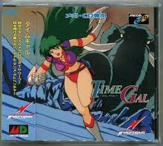 Video game:Sega Mega-CD Time <b>Gal</b> - <b>Japanese</b> Edition - Sega ...