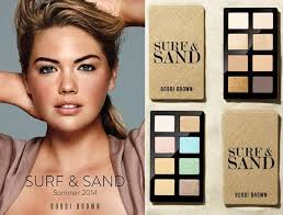 Bobbi Brown Makeup Kate Upton Surf and Sand Summer Collection 2014