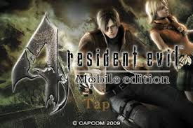 Free Download Games Resident Evil 44 apk+Android