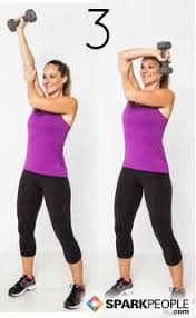 Image result for woman tricep extensions