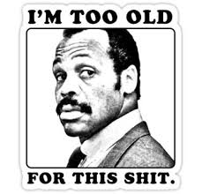Image result for danny glover lethal weapon gif