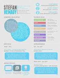 best resume samples   resume format colorful resume