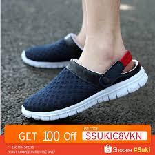 Ayugugu <b>Size 36-46</b> Men Sandals <b>Women</b> Light Mesh Slippers ...