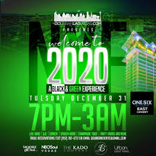 NYE Party Welcome to 2020 + New Year
