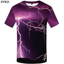 <b>KYKU Skull T Shirt</b> Men Black Tshirt Funny Punk Rock Clothes ...