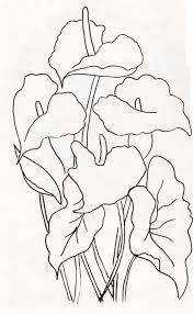 | Fabric painting, <b>Flower</b> sketches, Sketches