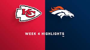 Watch Kansas City Chiefs vs. Denver Broncos [10/01/2018 ...