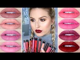 <b>Kat Von D</b> Everlasting Liquid Lipstick Lip Swatches Part 2 - YouTube