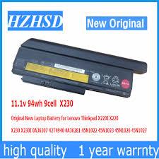 11.1v 94wh 9cell X230 <b>Original New</b> Laptop Battery for <b>Lenovo</b> ...