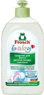 """<b>Средство</b> """"<b>Frosch</b>"""" для <b>мытья</b> детской посуды, 500 мл — купить в ..."""