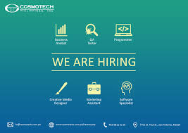 careers cosmotech inc job description